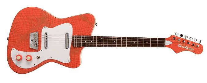 Danelectro '67 Heaven Hawk in Orange