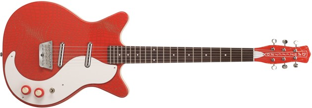 Danelectro '59 Original Alligator Red
